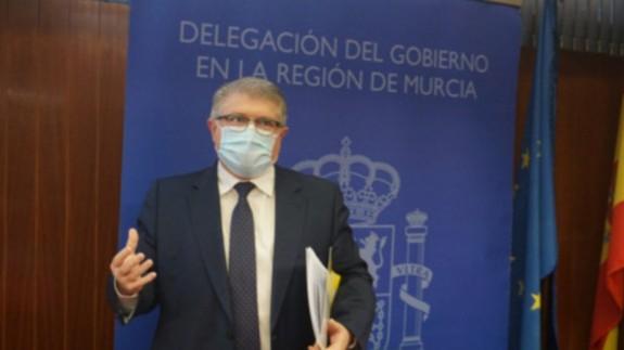 José Vélez. DELEGACION DEL GOBIERNO