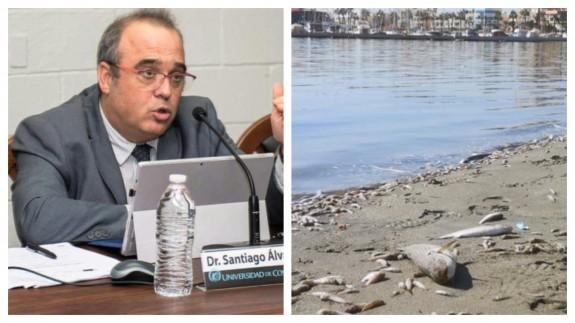 """PLAZA PÚBLICA. Santiago Álvarez: """"El debate sobre las competencias del Mar Menor debería estar acompañado con informes y estudios"""""""