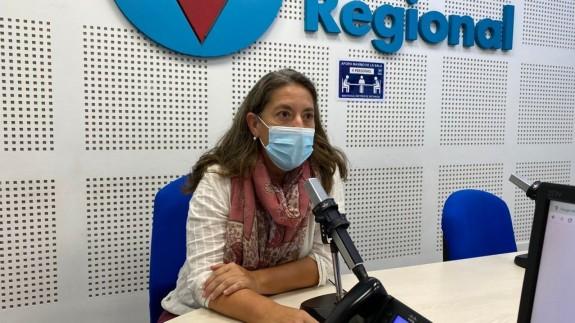Teresa Lajarín, presidenta del Consejo Territorial de ONCE en Murcia. ORM