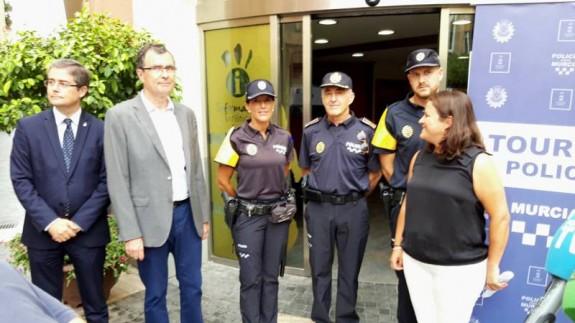 Presentación del servicio 'Policía Turística'. ORM
