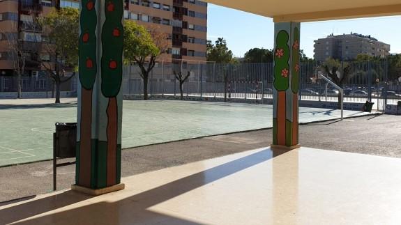 Patio de un colegio de Murcia. ORM