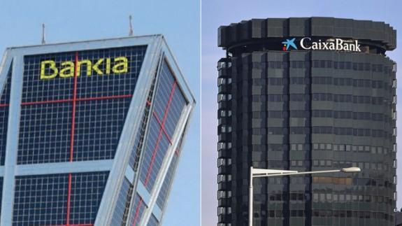 TE DOY LA TARDE. Bankia, que pertenece un 62% al Estado, si se fusiona con La Caixa pasaría ser solo un 14% estatal