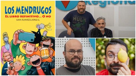 Portada de libro de Los Mendrugos, Juan Álvarez, Jorge Gómez, Antonio G. Caballer y Salva Espín