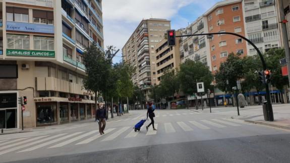 """TURNO DE NOCHE. Solano: """"Cabe la posibilidad de que la mayor parte del crecimiento se deba a personas que hayan venido a residir a la Región de Murcia"""""""