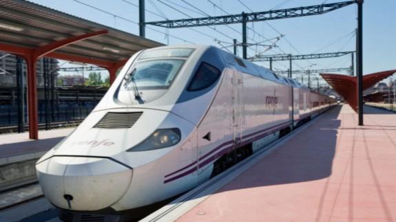 Tren Alvia. Foto: Renfe