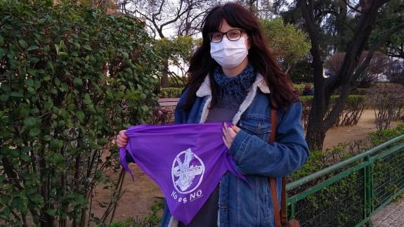 Ester Lorenzo Cañavate, del colectivo Amatista