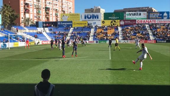 El Jumilla vence en La Condomina 0-1 al UCAM