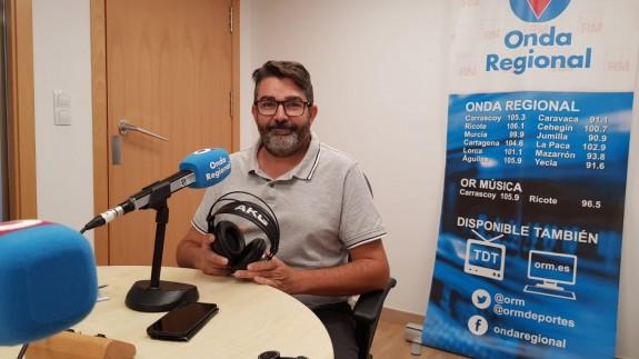 Bernardino Rodríguez, técnico de la Concejalía de Juventud de Cartagena
