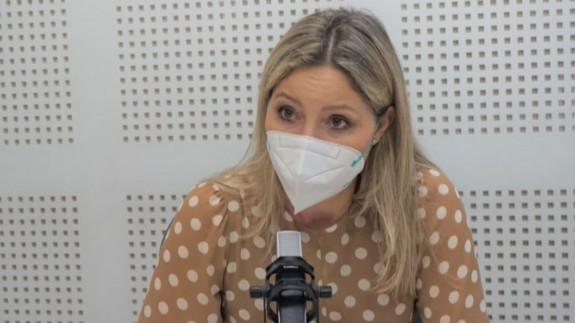 Ana Martínez Vidal, durante una entrevista en Onda Regional (archivo). ORM