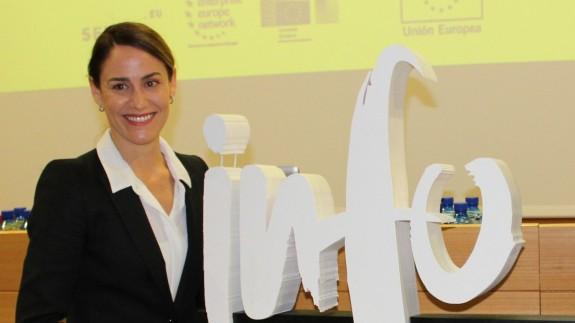 PLAZA PÚBLICA. Lucía Huertas, directora de la Oficina de la Región de Murcia en Bruselas