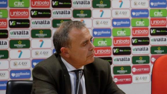 Francisco Miró, consejero delegado del Real Murcia.
