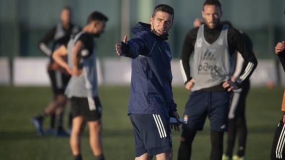 """Luis Carrión: """"Si competimos bien somos capaces de ganar al Leganés y a cualquiera"""""""