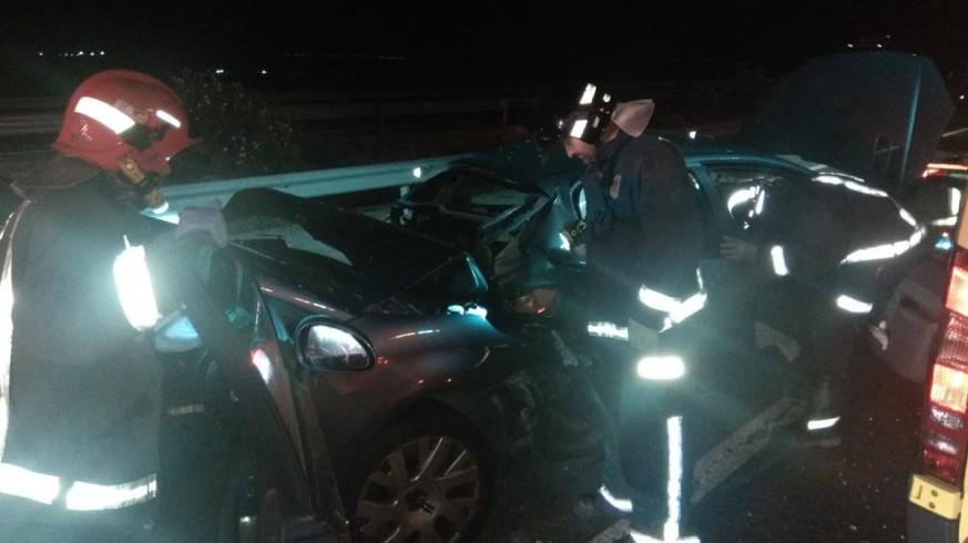 Imagen del accidente ocurrido en alhama