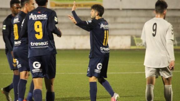 El UCAM se impone 0-3 ante el O.Xàtiva en la ida de la Copa RFEF