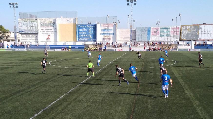 Reparto de puntos entre Mar Menor y Lorca Deportiva  2-2
