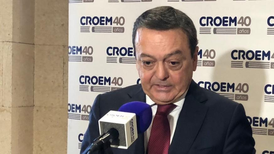 José Mª Albarracín, presidente de los empresarios murcianos