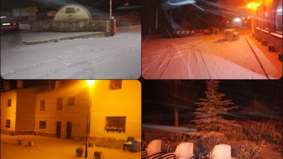 Imágenes de la nieve en las pedanías altas del Noroeste. Enrique Soler