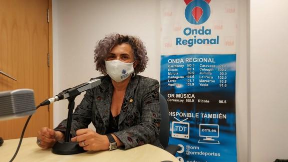 Beatriz Miguel en una imagen de archivo de Onda Regional