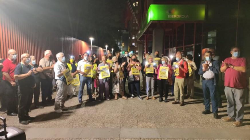 Concentración de Marchas por la Dignidad en Murcia. MARCHAS POR LA DIGNIDAD