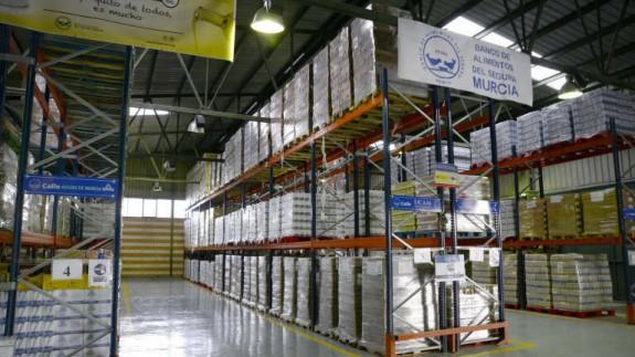 Las 92 organizaciones de reparto de alimentos ayudaron a casi 13.000 personas en Murcia
