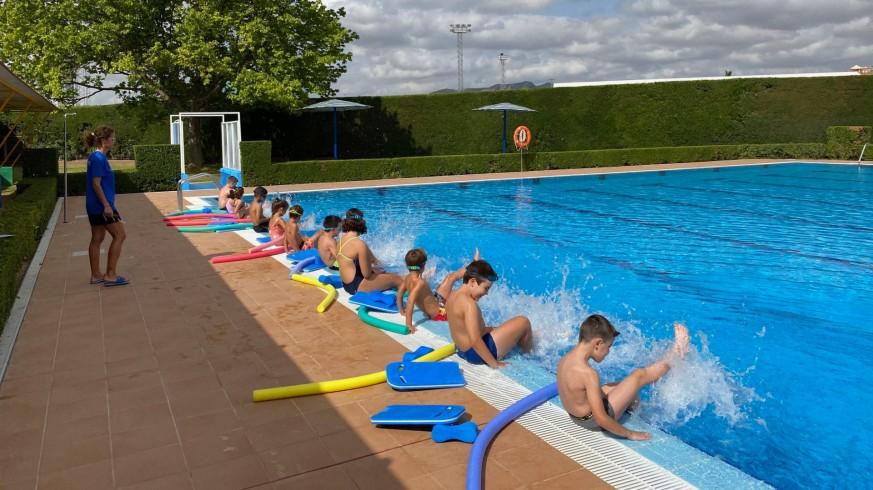 Curso de natación en Jumilla. Foto: Ayuntamiento de Jumilla