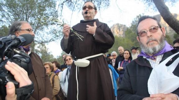 Padre Fracisco Oliver en una imagen anterior al confinamiento