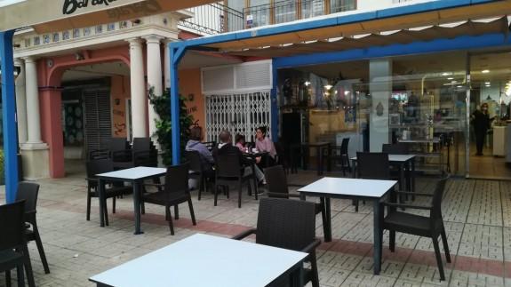 Imagen del bar `Baraka´en Cabo de Palos. Foto: Carina Navarro