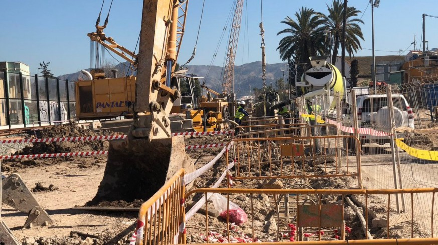 Obras Soterramiento AVE en Murcia. OR