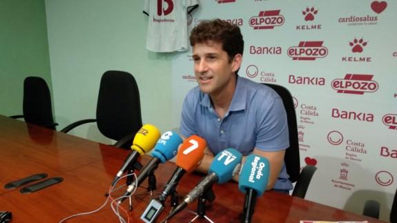 Duda, en su despedida como entrenador de ElPozo Murcia