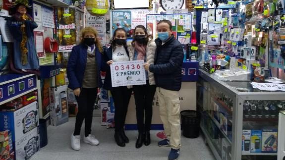 Bazar Tokio de Yecla ha vendido el segundo premio del Sorteo de El Niño