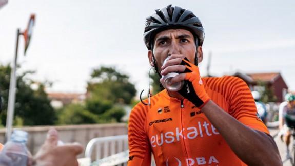 Antonio Soto, tras una etapa de la Vuelta a España
