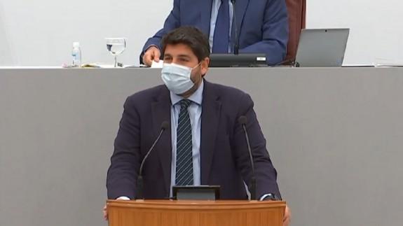 López Miras en su comparecencia