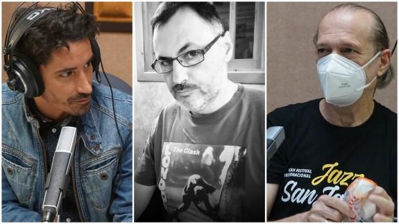 Fran Ropero, Juan Antonio Sánchez JASS y Román García