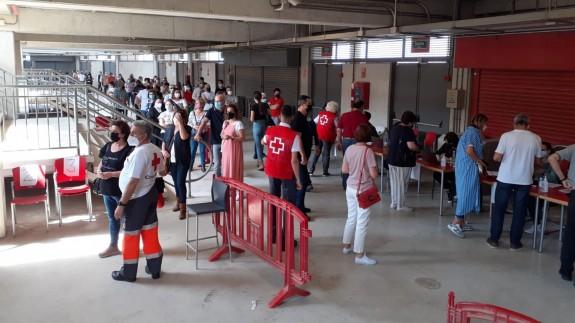 Salud administra 16.000 vacunas este fin de semana en Murcia, Lorca y Cieza