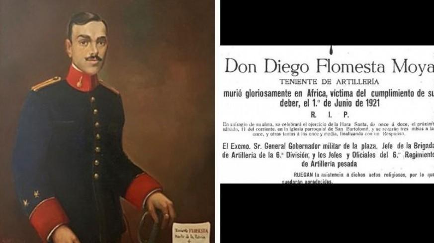 EL MIRADOR. Centenario de la muerte del Teniente Flomesta