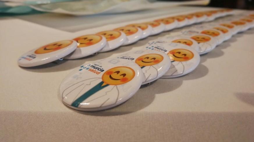 Material de la campaña de vacunación contra la gripe