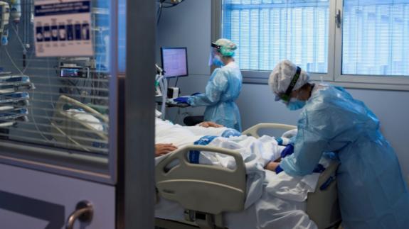 Imagen de un ingresado en un hospital. Foto: Europa Press