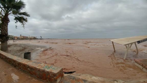 Efectos de la DANA de 2019 en el Mar Menor