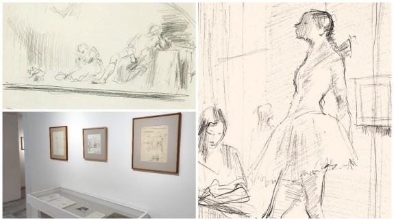TARDE ABIERTA. El Museo Ramón Gaya expondrá entre agosto y septiembre dibujos inéditos del autor