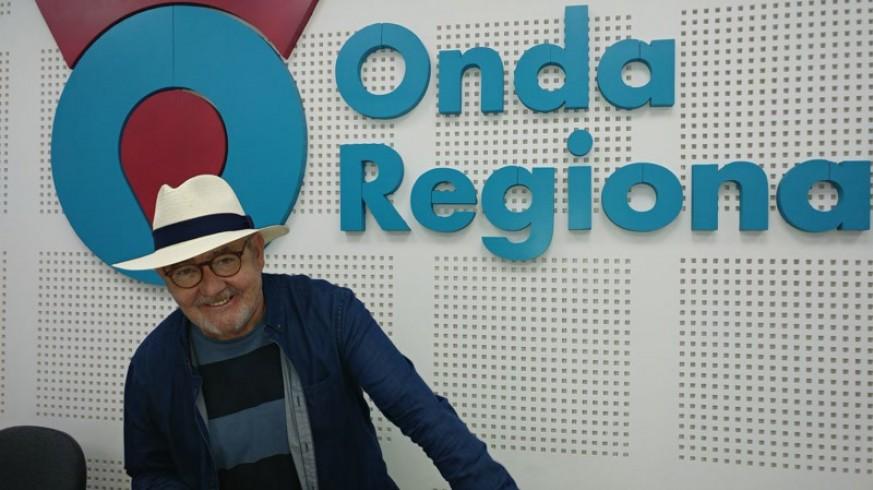 Marcos Salvador Romera, el Niño Versor, en Onda Regional.