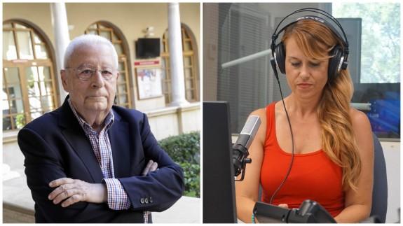 José Molina, ex presidente del Consejo de la Transparencia de la Región de Murcia, y Lucía Hernández