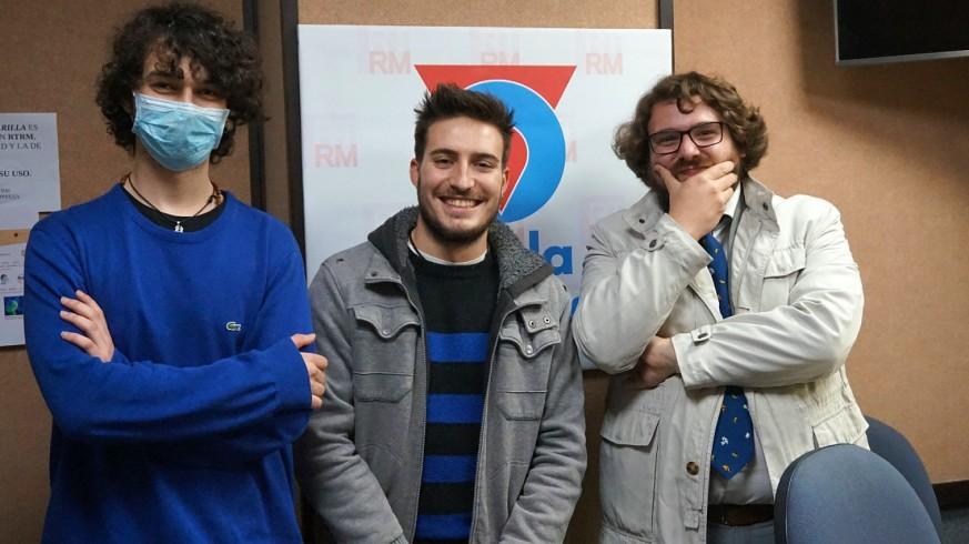 Enrique Capel, Samuel Pérez y Kiko Torres