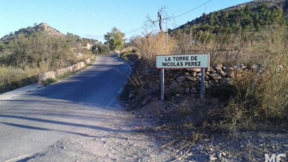 Carretera en la que se ha registrado la caída