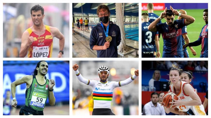 PLAZA PÚBLICA. Los atletas de la Región de Murcia que irán a Tokio 2020