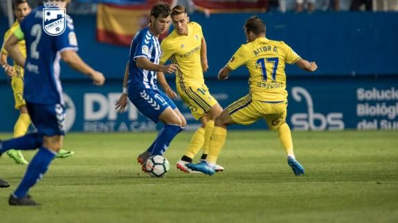Los goles de la victoria del Lorca FC frente al Cádiz