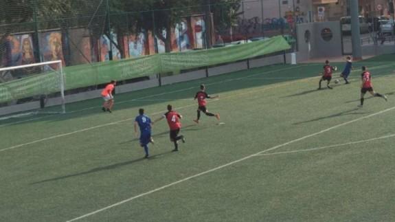 La Deportiva Minera logra la victoria 0-2 ante el Ciudad de Murcia