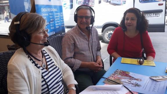 Carmen Campos, David Sánchez y María González Soriano nos hablan del Festival de folklore Villa de Alcantarilla