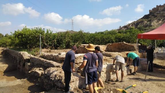 MURyCÍA. Excavaciones arqueológicas en el Castillejo de Monteagudo