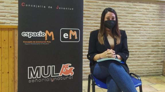 Laura Salas, concejala de Juventud en Mula