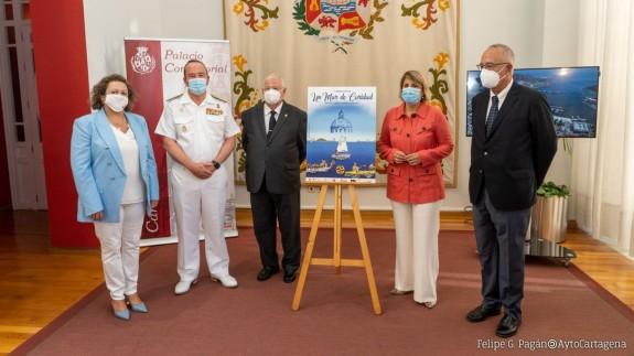 Presentación de la Jornada Náutica 'Un Mar de Caridad'. AYTO. CARTAGENA